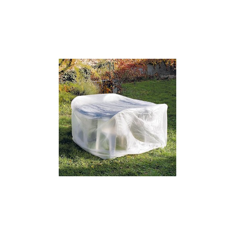 housse plastique transparente pour table ronde de jardin. Black Bedroom Furniture Sets. Home Design Ideas